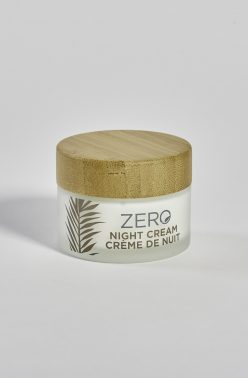 ZERO by Skin Academy Night Cream - Glass jar with bamboo lid
