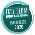 Free From Skincare awards, Bronze 2020
