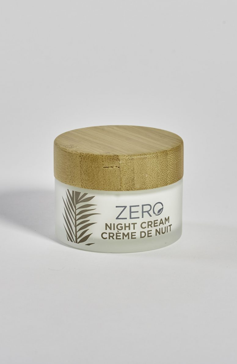 ZERO by Skin Academy Night Cream – Glass jar and bamboo lid